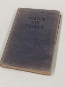 Book - Air Tables, Nories Air Tables