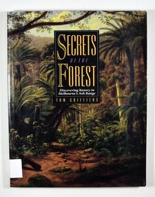 """Paperback. Front cover has a painting on it. The painting is """"Ferntree Gully in the Dandenong Ranges, 1857"""", painted by Eugene von Guerard."""