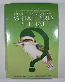 Front cover has a large green question mark with a drawing of a kookaburra perched on it.