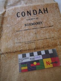 Map, Original titles map of Lake Condah and surrounds, Condah, County of Normanby
