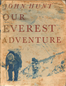 Book, Our Everest Adventure, 1954