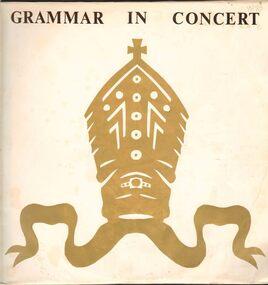 LP Record, Grammar in Concert, 1977