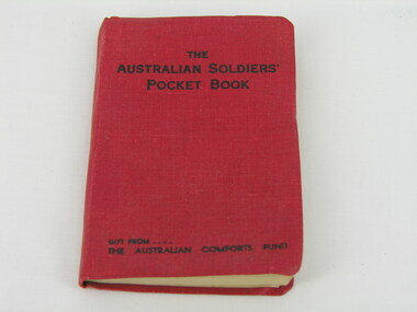 Pocketbook, The Australian Soldiers' Pocket Book