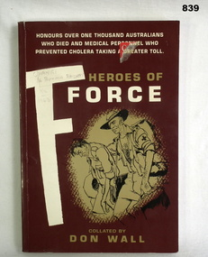 BOOK, Heroes of F Force, 1993
