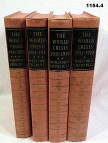 BOOKS, Winston Churchill, The World Crisis 1911 -1918, 1)  c.1938