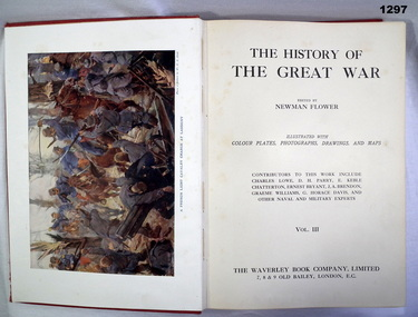 BOOK, History of the Great War Vol III, c.WWI