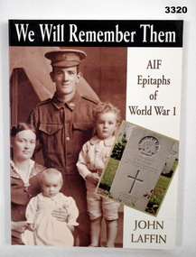 BOOK, We Will Remember Them, AIF Epitaphs of World War I