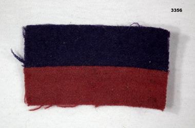 COLOUR PATCH, 1914 - 1918