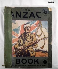BOOK, The Anzac Book, 1916