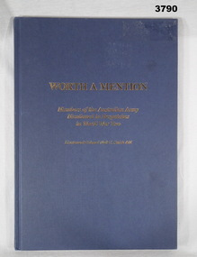 BOOK, Worth a Mention, 1994