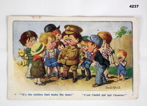 Postcard from France from an Australian soldier