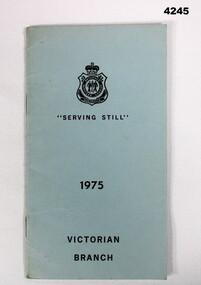 Booklet, Serving Still