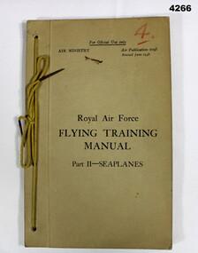 RAF flying training manual for Sunderlands