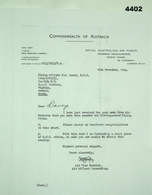 Document - LETTER of CONGRATULATIONS