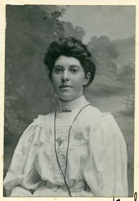 Mary Norman-Bail, 1908, Mary Norman-Bail, educator and artist, in 1908, Jan 1908