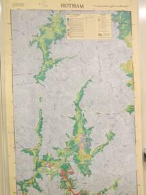 Map / Chart, Vegetation Map & Guide to Alpine Flora: Hotham, 1982