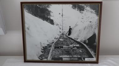 Set of 6 framed photographs - Kiewa Hydro Electric Scheme