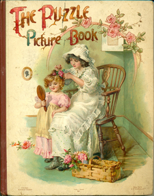Book, The Puzzle Picture Book, 1900