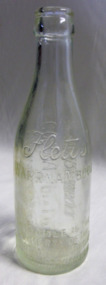 Bottle, Fletts, Circa early to mid 20th century