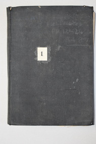 Ledger, Chadwick Copying Book Co, Letter book 1905, 1902