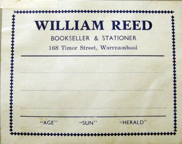 Label, William Reed Label, Early 20th century