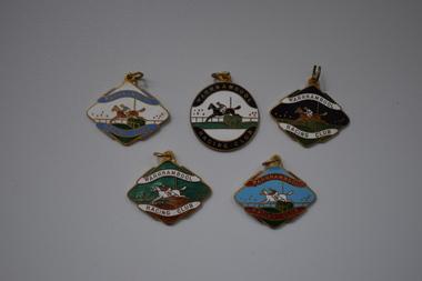 Badges, Stokes, Warrnambool Racing Club, 1950s
