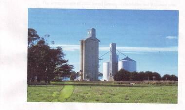 Picture, Westmere Grain Silo's