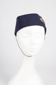 Side cap, front, Ansett Airways, 1940s