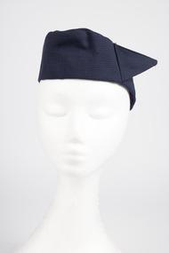 Pillbox hat, front, Ansett Airways 1958-1964
