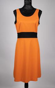 Orange dress created by Noeleen King
