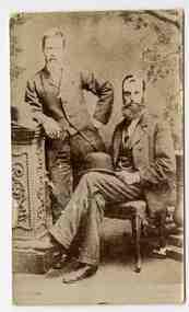Carte de visite (Thomas McIntyre and Edward Monk), Burman, Melbourne, 1878 - 1882