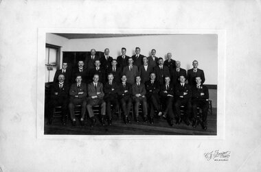 Photograph (Victoria Police), Police Officers group photo, 1920s