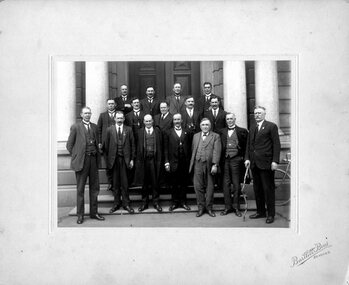 Photograph (Victoria Police), Police Force group photo, 1920s
