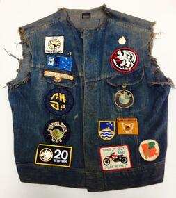 Textiles, Mann, Roger, Griffin Motor Club overlay belonging to Roger Mann, 1976-1996