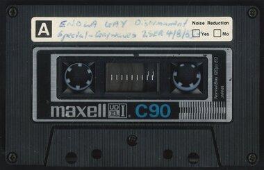 Audio, 2SER 107.3 FM (Radio Station : Sydney, NSW) : Gaywaves : 4/8/1983 : Enola Gay special on disarmament, 1983