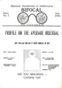 Periodicals, Bifocal, 1994-1996