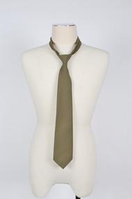 Army Uniform, tie, Fletcher Jones & Staff et al, 1990s