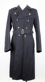 RAAF Gaberdine Overcoat, Australian Government Clothing Factory (A.G.C.F.), 1976