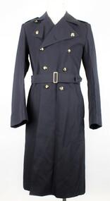 RAAF Gaberdine Overcoat, Australian Government Clothing Factory (A.G.C.F.), 1976