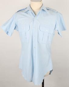 Shirt (short sleeve)  - RAAF (Blue Grey) Service Dress and Working Dress Uniform, Military Uniform, 1992