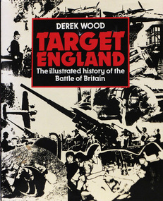 Book, TARGET ENGLAND The illustrated history of the Battle of Britain