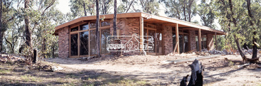 Photograph, Michael Wood, Wood family home during construction, 184 Progress Road, Eltham North, 1969