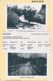 Document - Folder, Kaylock, 2009-2010