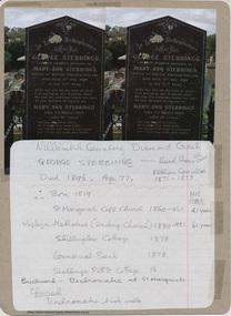 Document - Folder, Stebbings, 2009-2010