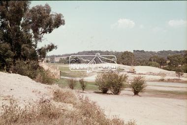 Slide, Construction of Eltham Town Park, 22 Feb 1974
