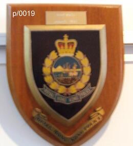 Plaque Royal Hong Kong Police, Royal Hong Kong Police