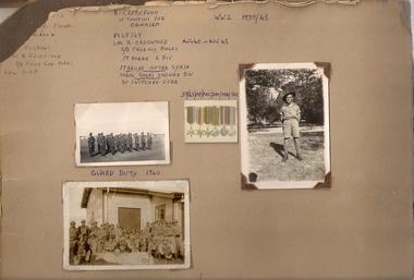 Photo Album, R. Crockford vx42349
