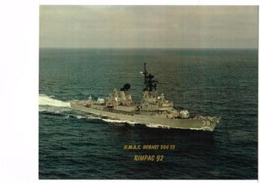 Photo HMAS Hobart