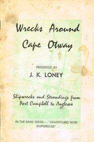 Book, Wrecks around Cape Otway