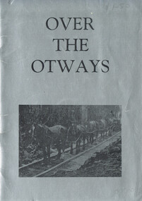 Book, Over the Otways, nd
